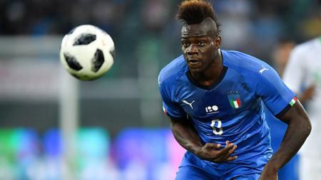 Mario Balotelli, striker Timnas Italia dan OGC Nice. - INDOSPORT