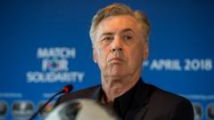 Indosport - Carlo Ancelotti, pelatih anyar Napoli.