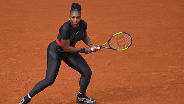 Serena Williams di Prancis Terbuka 2018. Copyright: INDOSPORT
