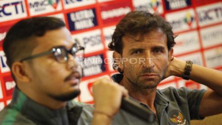 Pelatih Timnas Indonesia, Luis Milla. - INDOSPORT