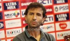 Indosport - Pelatih Timnas Indonesia U-23, Luis Milla.