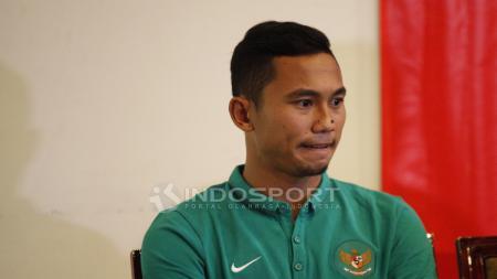 Bek Timnas Indonesia, Ricky Fajrin. - INDOSPORT