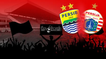 Persib Bandung vs Persija Jakarta. - INDOSPORT