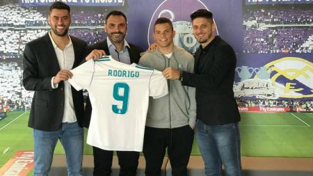 Rodrigo Rodrigues resmi berstatus penggawa Real Madrid. - INDOSPORT