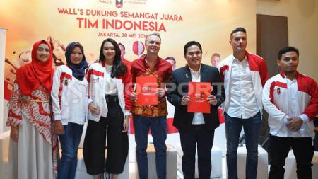 Tim Indonesia untuk Promosi Asian Games 2018. - INDOSPORT