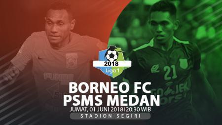 Borneo FC vs PSMS Medan. - INDOSPORT