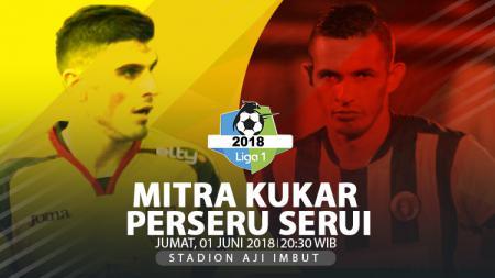 Mitra Kukar vs Perseru Serui. - INDOSPORT