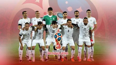 Timnas Football Iran PD 2018. - INDOSPORT