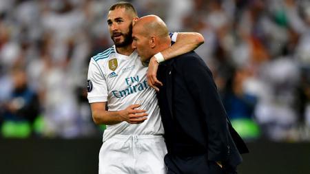Terlalu bergantung pada Karim Benzema buat raksasa LaLiga Spanyol bakal terkena getahnya gara-gara potensi ditinggal imbas cedera. Ini semua gara-gara Zinedine Zidane. - INDOSPORT