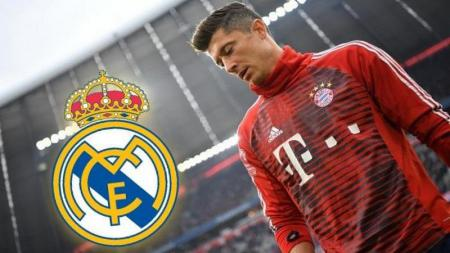 Robert Lewandowski diincar Real Madrid. - INDOSPORT