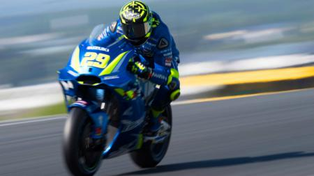 Andrea Iannone, pembalap MotoGP dari tim Suzuki. - INDOSPORT