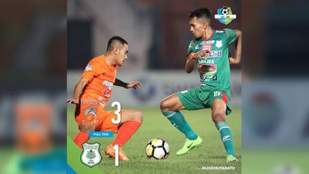 Laga Borneo FC vs PSMS Medan berkahir dengan kemenangan Borneo. - INDOSPORT