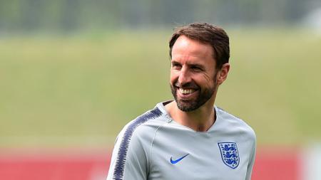 Gareth Southgate, Pelatih Timnas Inggris di Piala Dunia 2018. - INDOSPORT