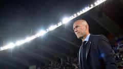Indosport - Zinedine Zidane, mantan pelatih Real Madrid.