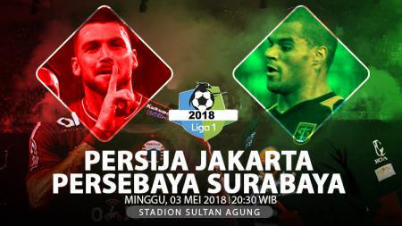 Persija Jakarta vs Persebaya Surabaya. - INDOSPORT