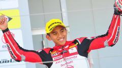 Indosport - Mario Suryo Aji pembalap Moto3