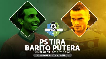 PS TIRA vs Barito Putera. - INDOSPORT