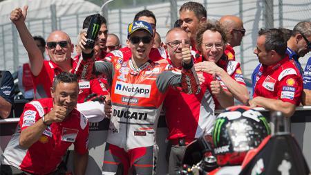 Pembalap Tim Ducati, Jorge Lorenzo. - INDOSPORT