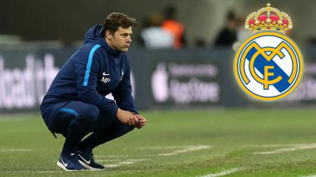 Pelatih Tottenham Hotspur, Mauricio Pochettino difavoritkan jadi pelatih Real Madrid. - INDOSPORT