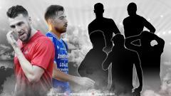 Indosport - 7 Pemain gol bunuh diri Simic, Bauman dan 5 pemain lainnya.