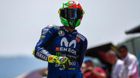 Valentino Rossi gunakan helm khusus di Sirkuit Mugello - INDOSPORT