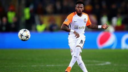 Fred saat bermain untuk Shakhtar Donetsk di ajang Liga Champions. - INDOSPORT