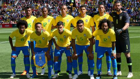 Susunan pemain Brasil vs Bolivia - INDOSPORT