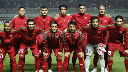 Skuat Timnas U-23 Indonesia.