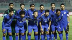 Indosport - Skuat Timnas U-23 Thailand