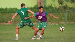 Indosport - Latihan PSMS Medan jelang menghadapi Persib Bandung.