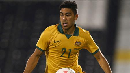 Pemain keturunan indonesia, Massimo Luongo resmi dibawa Timnas Australia ke Piala Dunia 2018. - INDOSPORT