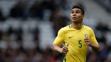 Casemiro, gelandang bertahan Timnas Brasil dan Real Madrid. - INDOSPORT
