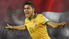 Indosport - Pemain keturunan indonesia, Massimo Luongo resmi dibawa Timnas Australia ke Piala Dunia 2018.