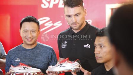 Marko Simic terkesima dengan sepatu yang diabadikan dari nama belakangnya.