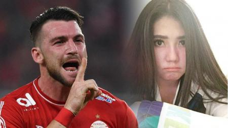 Marko Simic dan Via Vallen - INDOSPORT