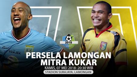 Persela Lamongan vs Mitra Kukar. - INDOSPORT