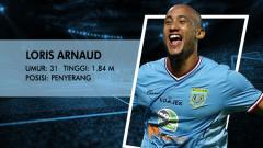 Indosport - Persela Lamongan vs Mitra Kukar (Loris Arnaud).
