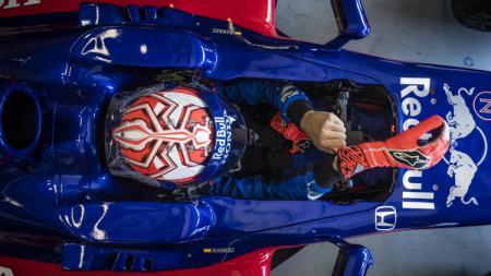 Ilustrasi pembalap yang menjajal Formula 1 dengan mengendarai mobil milik Toro Rosso. - INDOSPORT