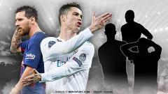 Indosport - Duel Lionel Messi dan Cristiano Ronaldo.