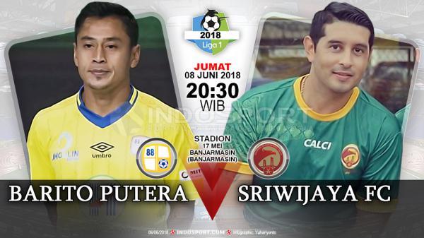 Kuis Prediksi Barito Putera Vs Sriwijaya Fcr Indosport