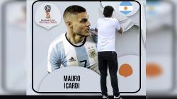 Mauro Icardi resmi tidak masuk dalam skuat di Piala Dunia 2018.
