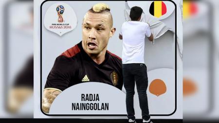 Radja Nainggolan resmi tidak masuk dalam skuat di Piala Dunia 2018. - INDOSPORT