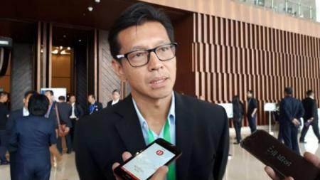Direktur Keuangan Persib Bandung Teddy Tjahyono. - INDOSPORT
