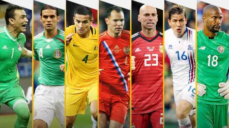 7 pemain tertua piala dunia 2018 - INDOSPORT