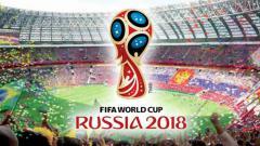 Indosport - Ilustrasi logo Piala Dunia 2018 di Rusia.
