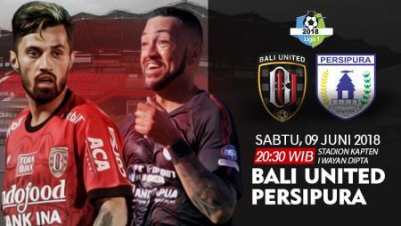 Bali United vs Persipura Jayapura. - INDOSPORT