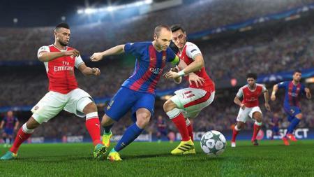 Pro Evolution Soccer menjadi salah satu cabang eSports yang dipertandingkan di Asian Games 2018. - INDOSPORT