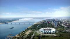 Indosport - Pemandangan Kota Volgograd, Rusia.