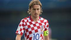 Indosport - Kapten Kroasia, Luka Modric.