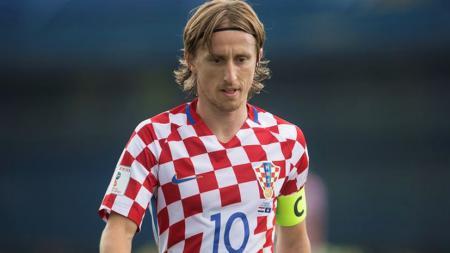 Playmaker sekaligus kapten Timnas Kroasia, Luka Modric. - INDOSPORT